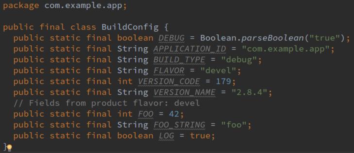 buildconfig